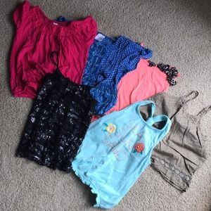 Girls cute tops and tanks